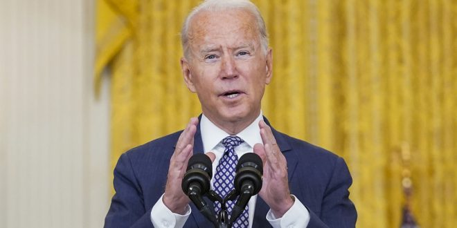 Biden promises to evacuate 'any American who wants to come home' from Afghanistan