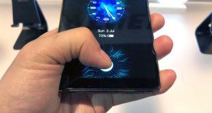 سنسورهای درون صفحه نمایش گوشی های هوشمند سامسونگ کارایی بیشتر از اسکن اثر انگشت خواهند داشت