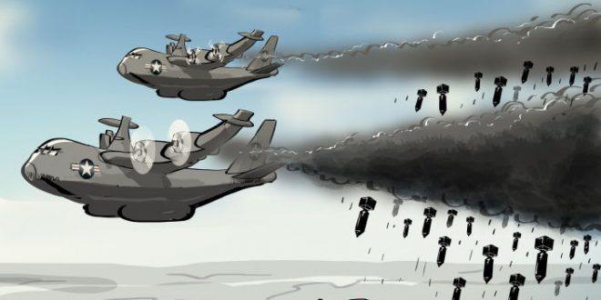 تعهد آمریکا برای بمباران بیشتر طالبان در افغانستان