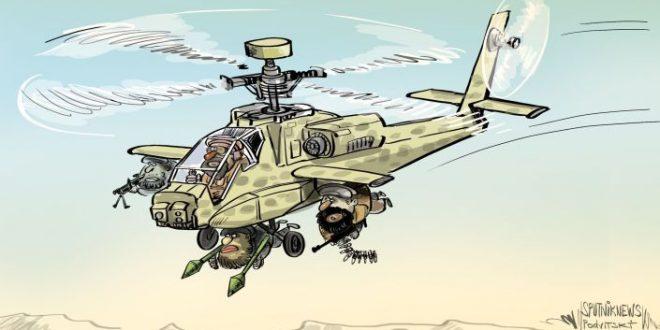 افتادن تسلیحات امریکایی از جمله هواپیما ها به دست طالبان